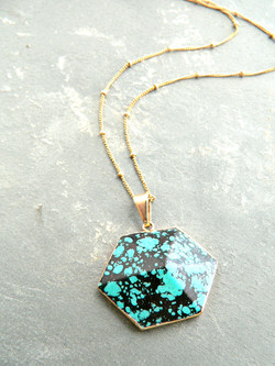 TURQUOISE PARADOX NECKLACE