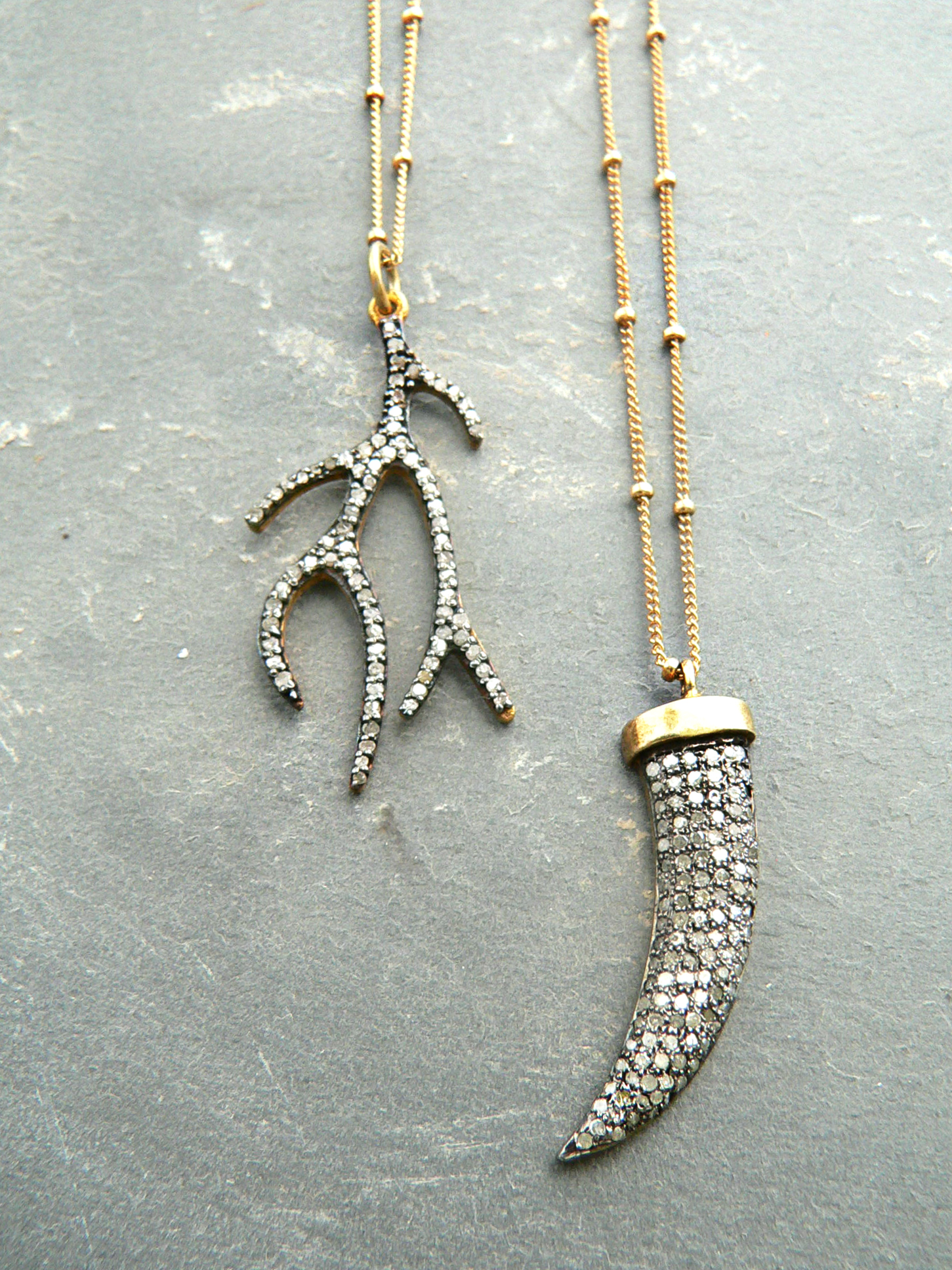 GENUINE DIAMOND NECKLACES
