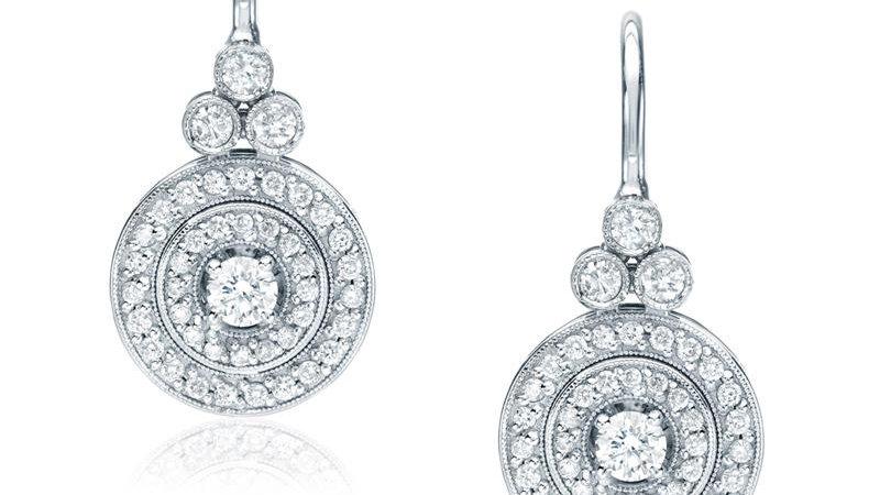 Trio-Circle Earrings