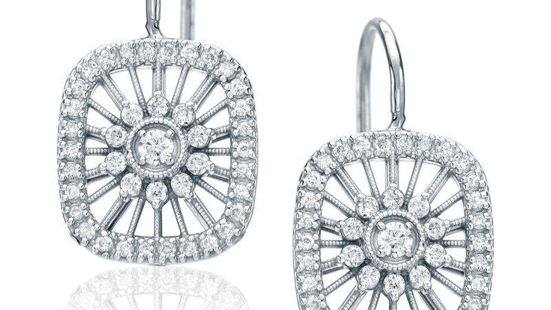 Cushion-Wire Earrings