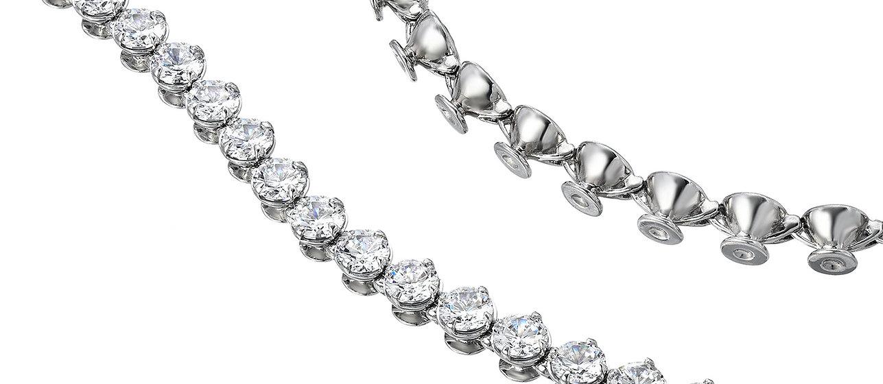 Custom-Made Scroll Bracelet