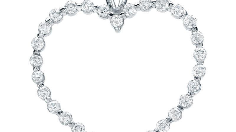 Heart Frame Pendant