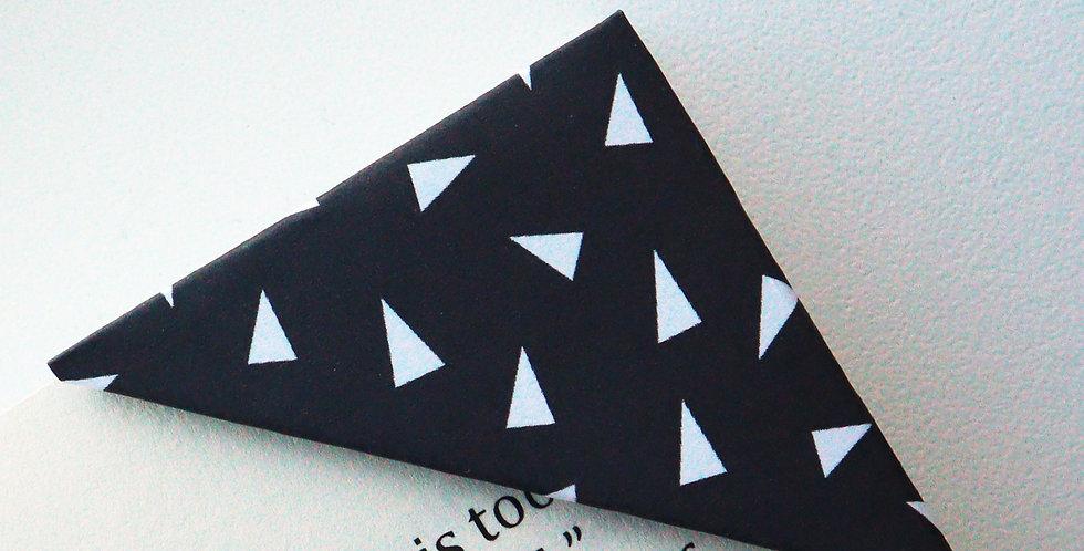 Tiny Triangle Bookmark (2 colors)