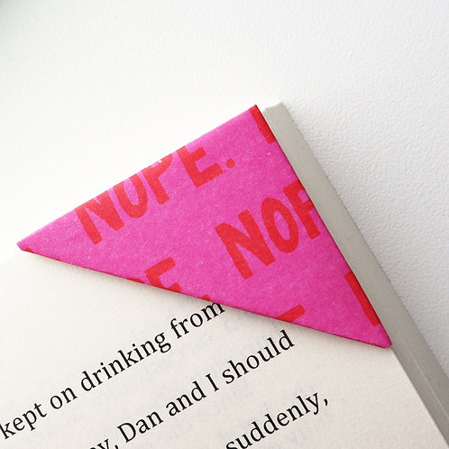 Nope Bookmark