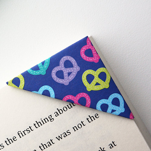 Colorful Pretzel Bookmark