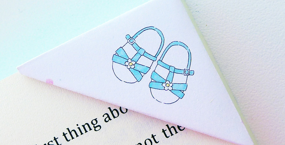 Baby Outfit Bookmark (2 Prints)