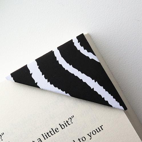 Zebra Print Bookmark (2 colors)