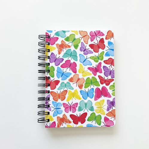 Symmetrical Butterflies Notebook Journal