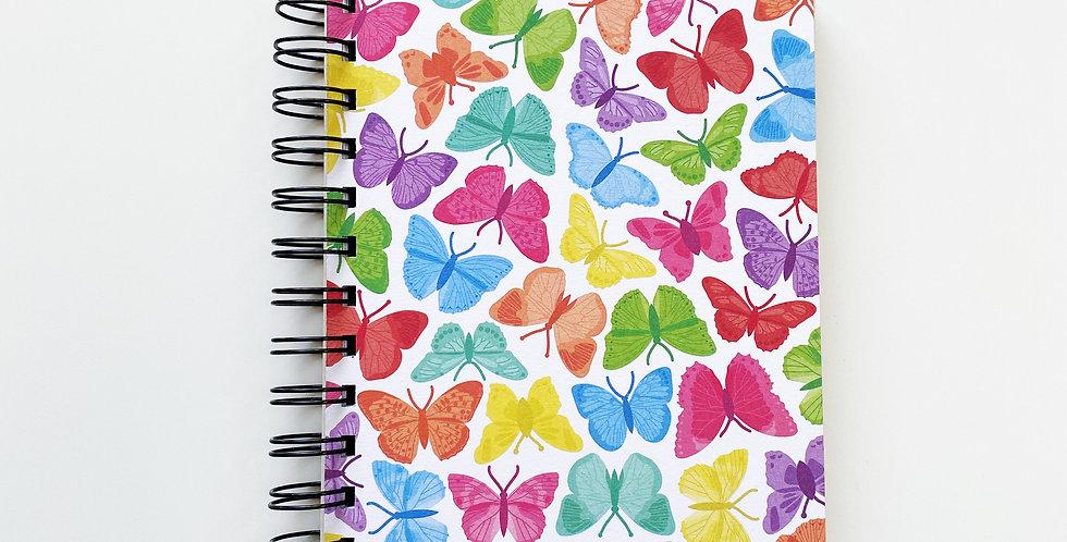 Symmetrical Butterflies Notebook Journal