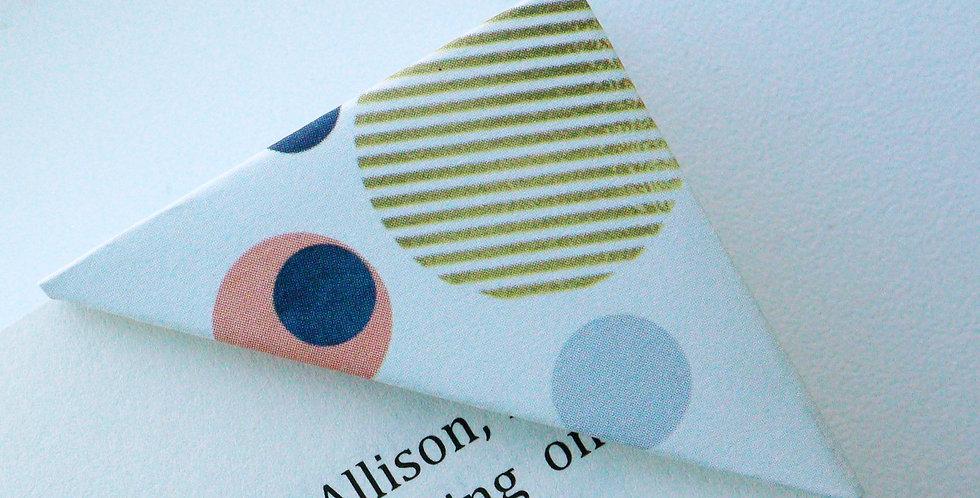 Fancy Polka Dot Bookmark
