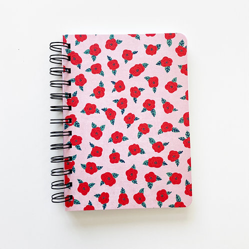Tattoo Roses Notebook Journal
