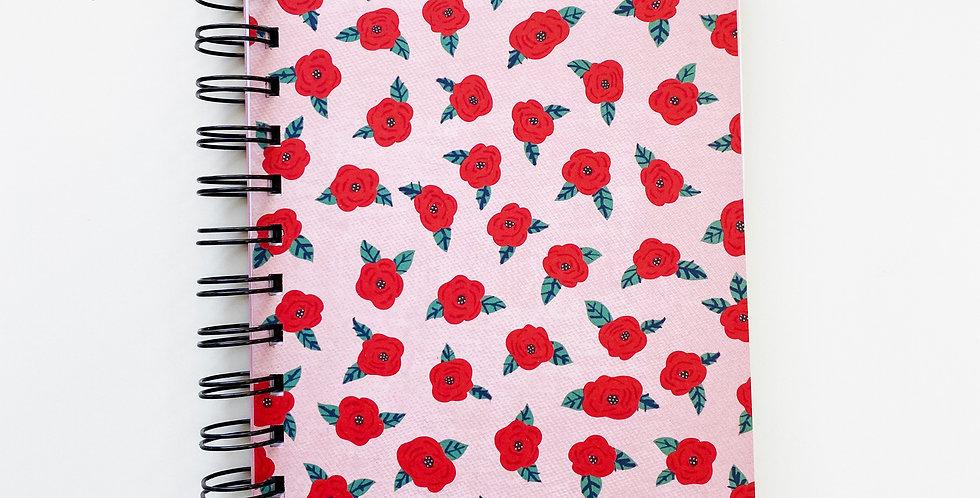 Tattoo Roses Notebook Journal
