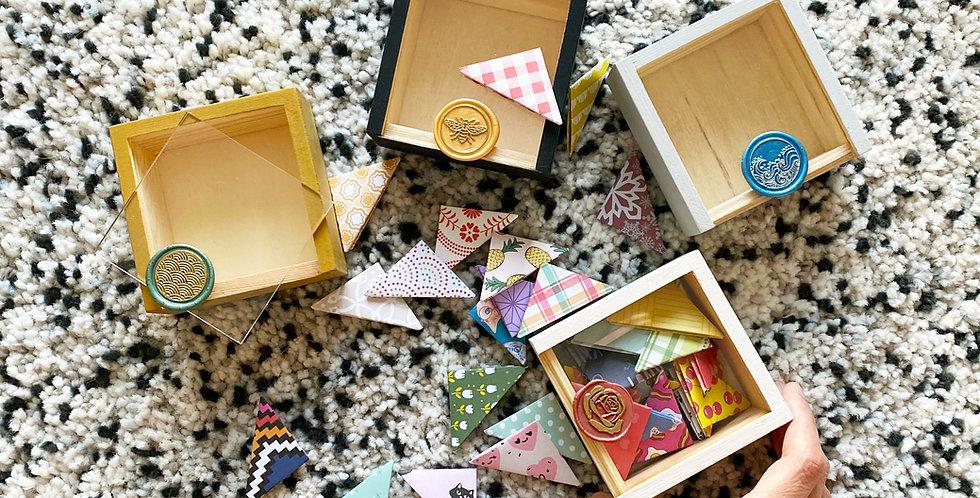 Bookmark Storage Box (4 colors)