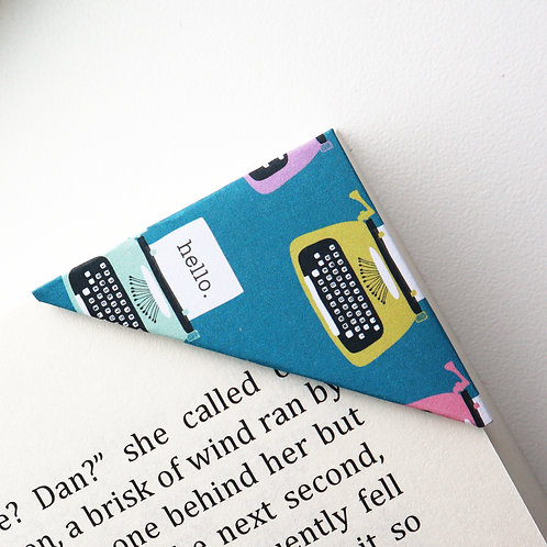 Hello Typewriter Bookmark