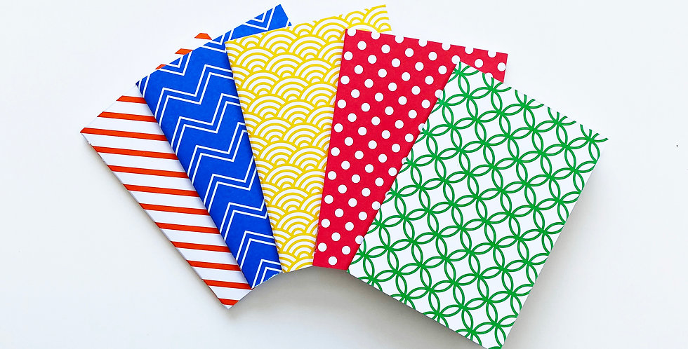 Set of 5 Pocket Notebooks
