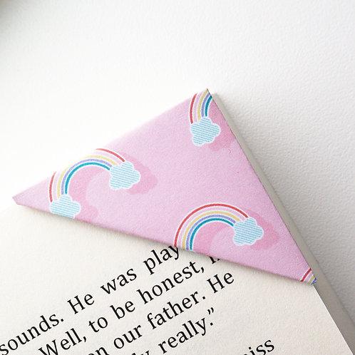 Rainbow Day On Pink Bookmark
