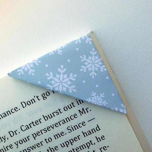 Snow Shower In Mild Blue Bookmark