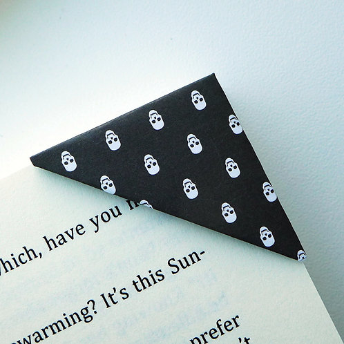 Halloween Skeleton Bookmark