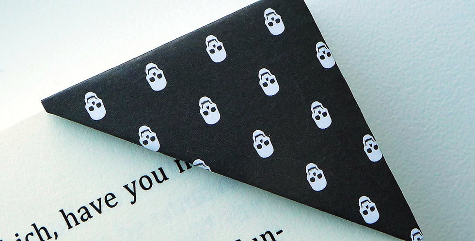Halloween Skeleton Bookmark