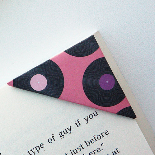 Music Record Bookmark