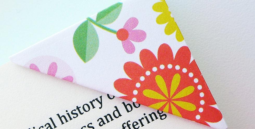 Bloomy In Summer Bookmark