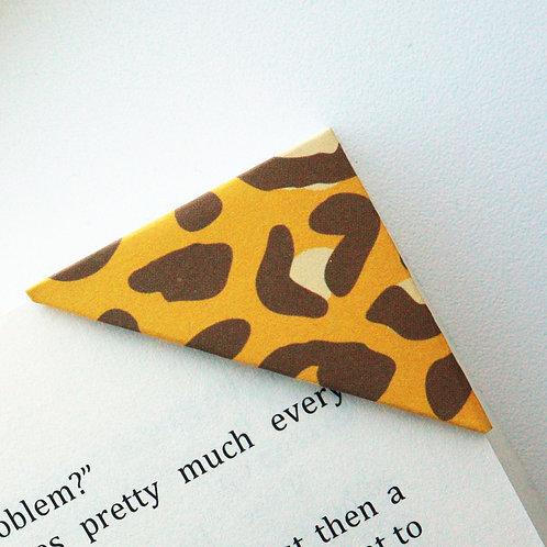 Cheetah Print Bookmark (2 colors)