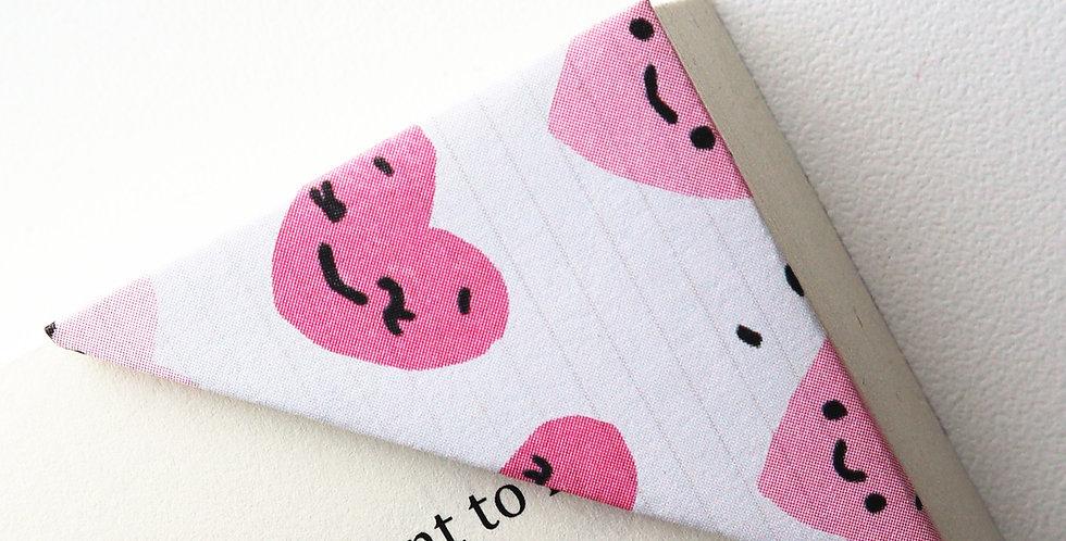 Cutie Heart Face Bookmark
