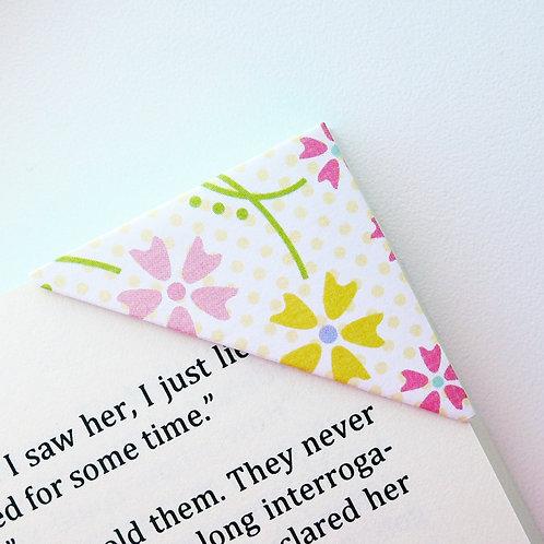 Fallen Flowers In Multi Color Bookmark