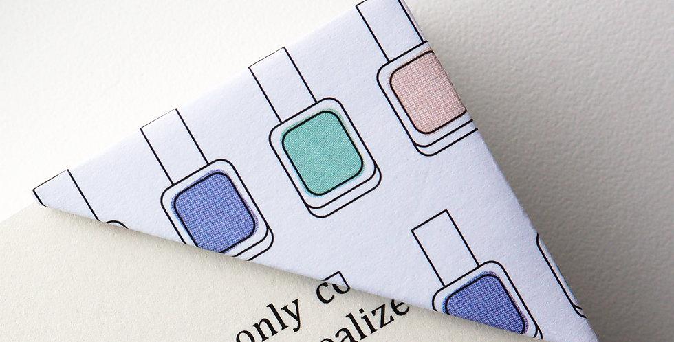 Nail Polish Bookmark