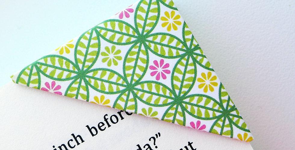 Colorful Kaleidoscope Pattern Bookmark