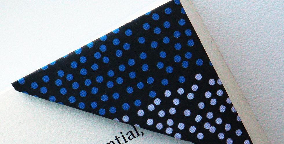 Multicolor Polka Dot Bookmark