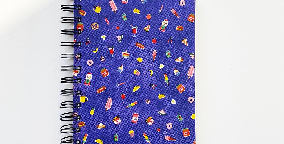 Junk Food Junky Notebook Journal