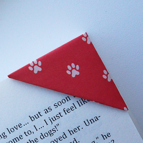 Pet Pawn On Red Bookmark