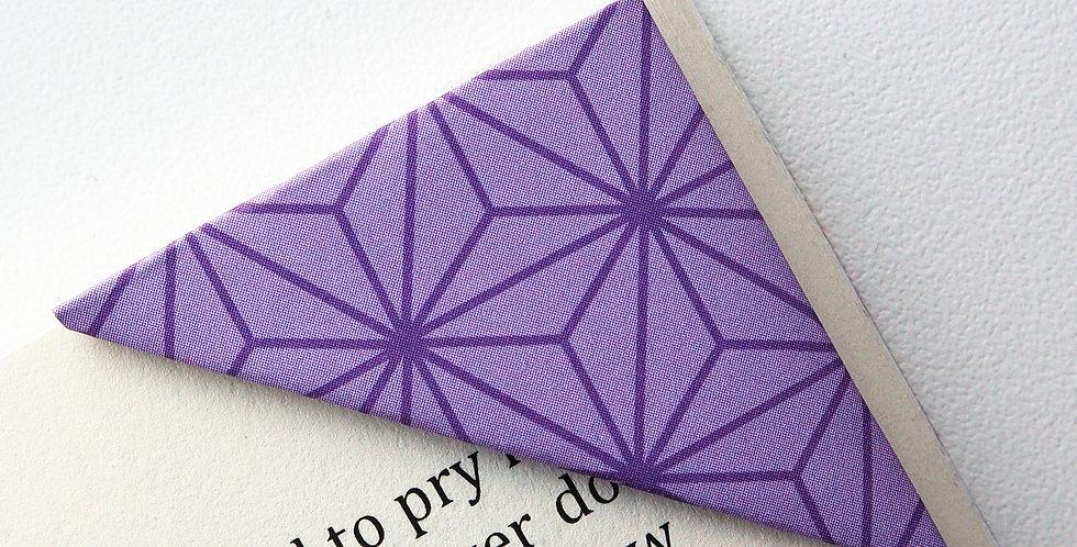Geometric Snow Flake Bookmark (2 colors)