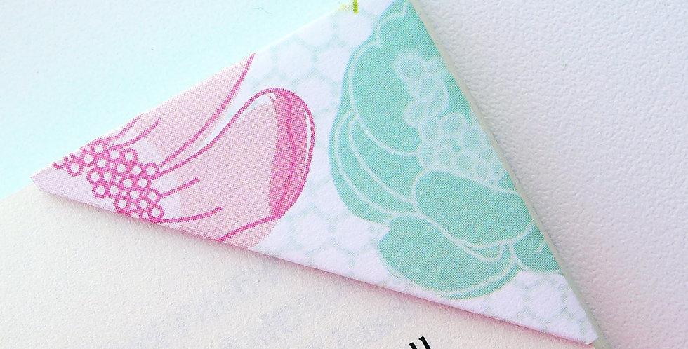 Summer Blossom Bookmark (4 colors)