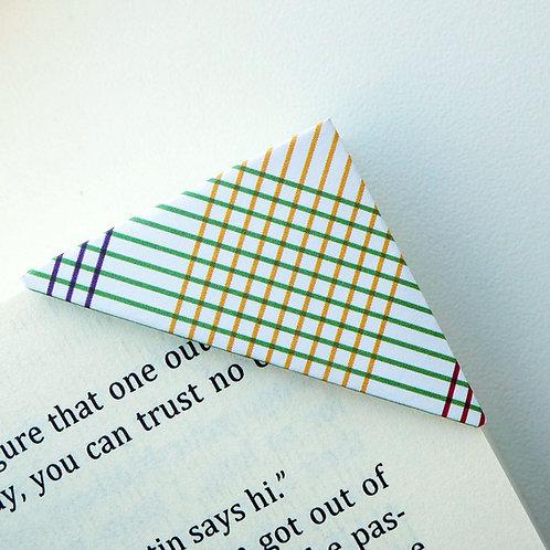 Fancy Plaid Pattern Bookmark