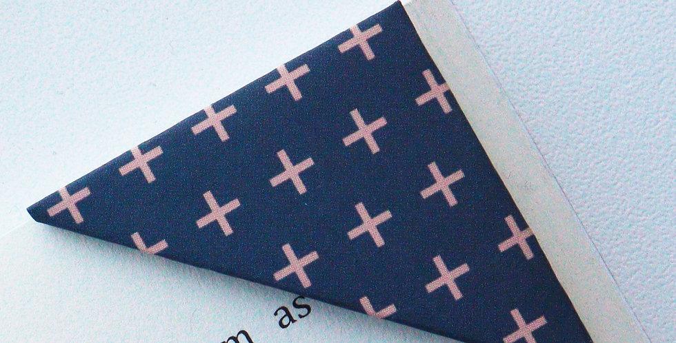Tiny Cross Bookmark (3 colors)