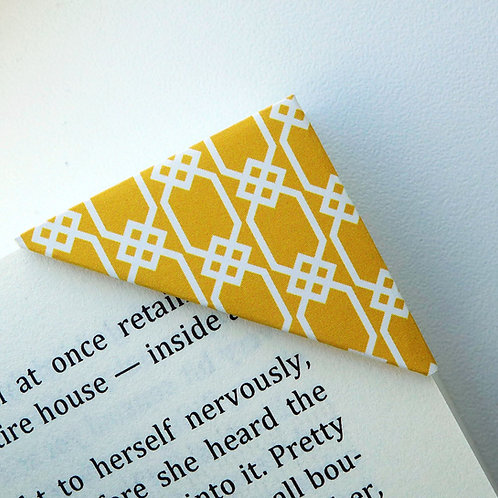 Love For Yellow Seamless Pattern Bookmark