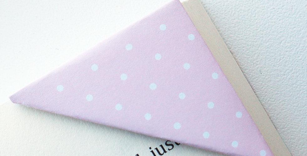 Pastel On Pink Bookmark