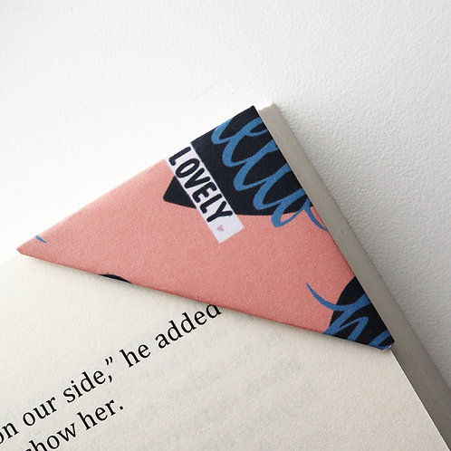 Hello Lovely Bookmark