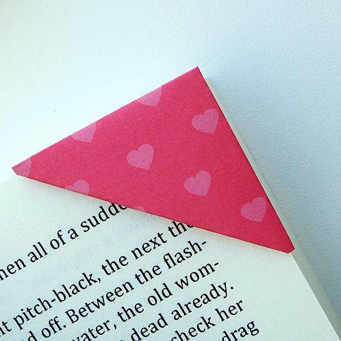 I Love U Heartshape Bookmark