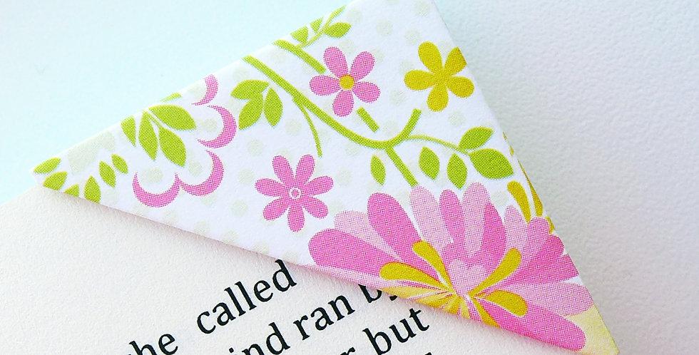 Spring In Summer Blooms Bookmark