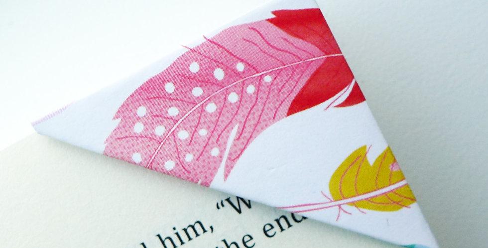 Elegant Feather Bookmark
