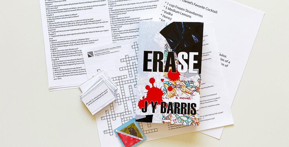 Erase by J Y Barris (Paperback)