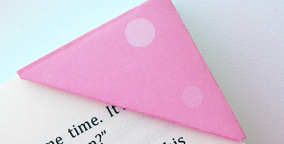 Dotted Soft Pink Bookmark