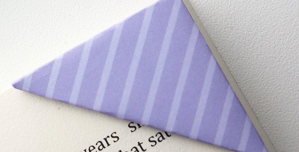 Purple Stripe Bookmark