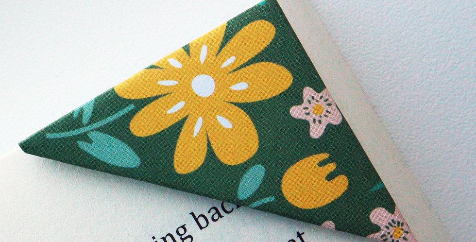 Wild Flower Garden Bookmark