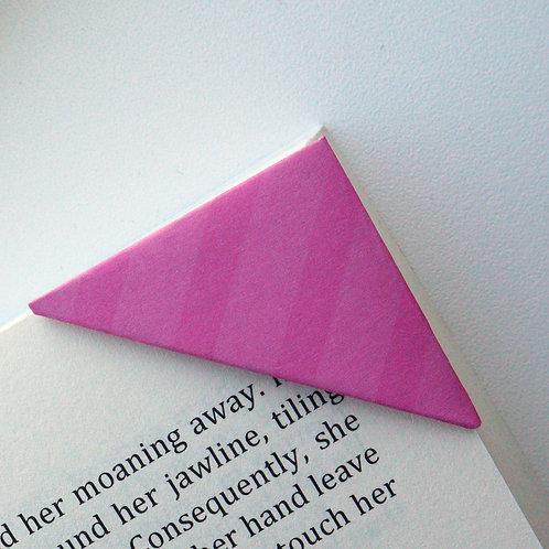 Two Tone Stripe Bookmark (2 colors)