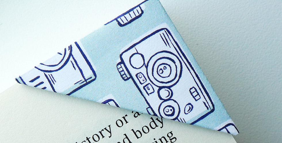 Vintage Camera Bookmark
