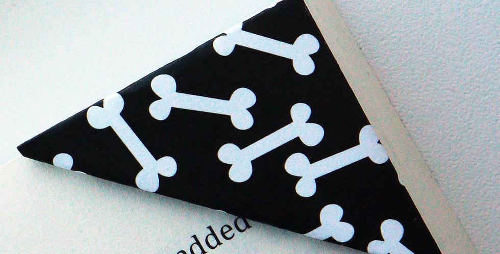Dog Bone Bookmark